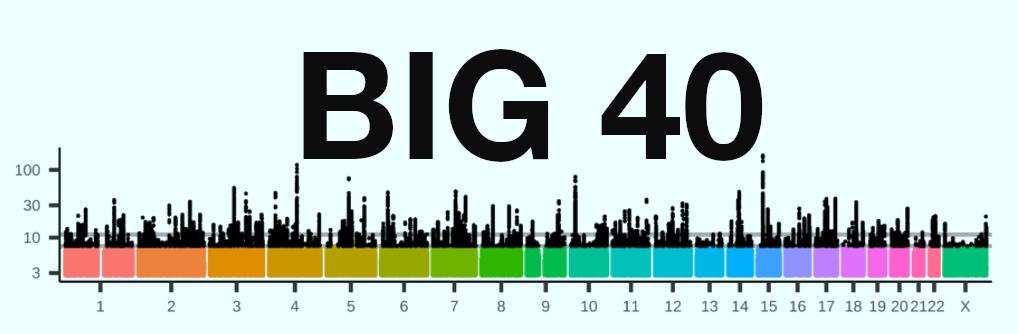 Big40 logo