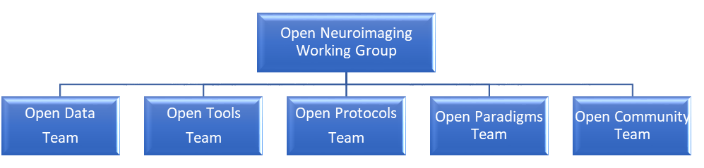 Working group structure at WIN